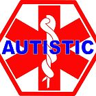 AUTISTIC MEDICAL ALERT ID TAG by SofiaYoushi
