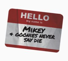 Mikey Name Badge - The Goonies Kids Clothes