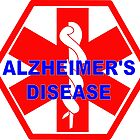 Alzheimer's disease medical alert Identification Tag by SofiaYoushi