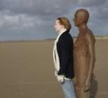 Self Portrait Two: Antony Gormley's 'Another place' by nicholaTisdall