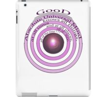GOD IS iPad Case/Skin
