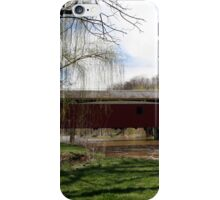 Bogert Covered Bridge - Allentown Pa. iPhone Case/Skin