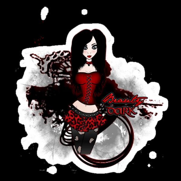 beauty dark by VirgiMax Designs
