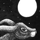 Hare and Moon by Kerina Strevens