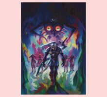 The Legend of Zelda Majora's Mask 3D Artwork #2 Kids Clothes