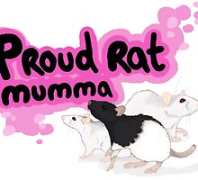 Proud Rat Mumma by Kira-Hopcroft