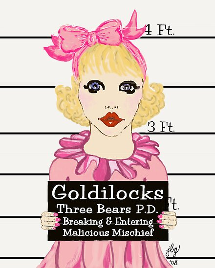 Goldilocks Mugshot by jbguess