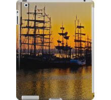 Tall ships at Greenwich iPad Case/Skin