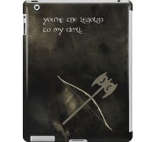 The Lord of the Rings inspired valentine (3/3). iPad Case/Skin