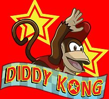 Diddy Kong by Kiro13