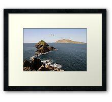 Dingle sea view Framed Print