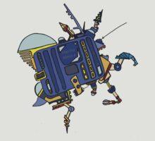 Mech bot by MuscularTeeth