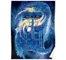 TARDIS Doctor Who Police Box Poster