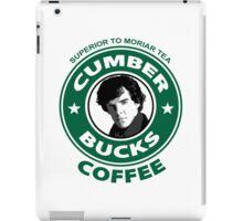 Cumberbucks Coffee - Superior to  Moriar Tea iPad Case/Skin