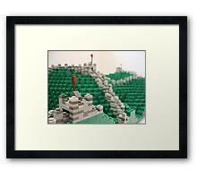 Great Wall of China Framed Print