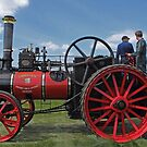 Chieftain traction engine by Avril Harris