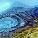 Blue Wind by Vicky Brago-Mitchell