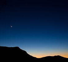 Colors And The Moon by Sylvain Girard