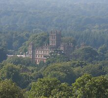 Highclere Castle by Asenna