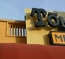 Detail Of A Tex - Mex Restaurant  by Reese Forbes