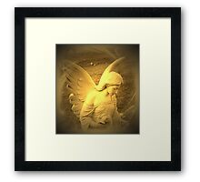 Angel Voices Say Framed Print