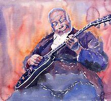 Jazz B B King 03 by Yuriy Shevchuk
