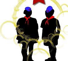 PIONEERS COMMUNIST MARX ENGELS LENIN by SofiaYoushi