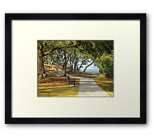 Sit By The River Framed Print