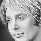 Clay Aiken Close Up Portrait by Carliss Mora