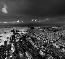 Coastal Geographical mono  by Rob Hawkins