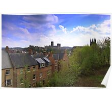 The City of Durham, Northern England. 23rd April 2014 Poster