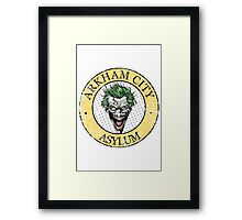 Arkham City Asylum Framed Print