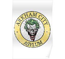 Arkham City Asylum Poster