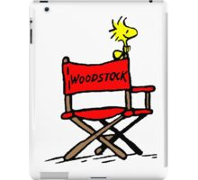Woodstock director iPad Case/Skin