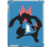 Totodile evolution chain iPad Case/Skin