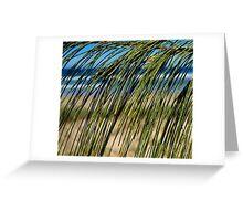 Beach Screen Greeting Card
