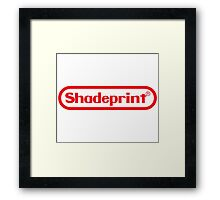 Shadeprint Entertainment Computers. Framed Print