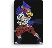 That Ain't Falco!   Falco Typography Canvas Print