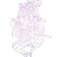 Sailor Moon Gradient by jubileetees