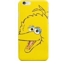 Big Bird Face iPhone Case/Skin