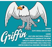 Griffin With Title Photographic Print