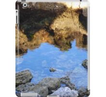 Reflection on the Beach iPad Case/Skin
