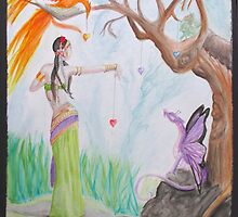 Entre amis- With friend by sandra chapdelaine