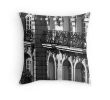 Parisian Balconies, Paris Throw Pillow