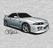 Nissan Skyline R33 Series 2 Sketch by cathysola