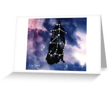 ES Birthsigns: The Lord Greeting Card