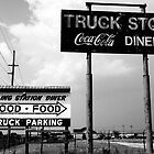 Truck Stop by Brad Sauter