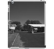 Route 66 - Western Motel iPad Case/Skin