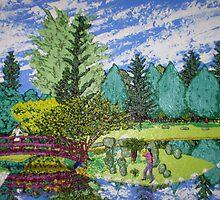 mirror garden by jamil zamri t  k  zamri