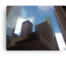 Building Blocks of Houston, Texas Canvas Print